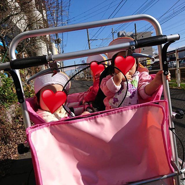 今日はお外へおでかけ水分補給も忘れずにね**#お散歩へ #電車のみえる保育園 #鹿児島市 #かごしま #東谷山 #企業主導型保育園 #小規模保育園 #一時預かり #アドナース #完全給食